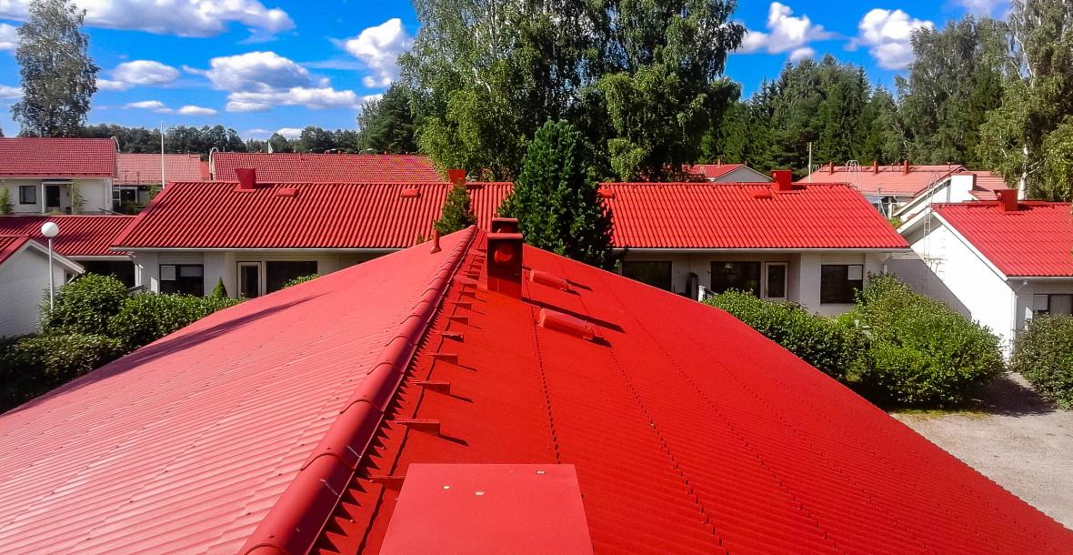 Kattomaalaus Hämeenlinna, Tampere, Pirkanmaa ja Hämeen alue